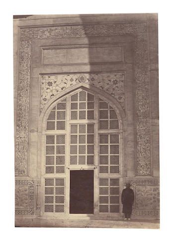ARCHITECTURE A group of 18 Mughal architectural studies, [c.1870s-1890] (18)