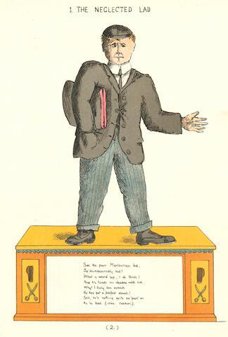 WILLIAMS (ARTHUR de COETLOGEN) The Marlborough Struwwelpeter, [1909]