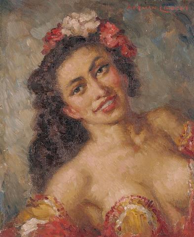 Norman Lindsay (1879-1969) Portrait of Rita