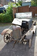 Current owner since 1962,1923 Deemster 11.9hp Royal Restoration Project  Chassis no. 4587/23 Engine no. 1460
