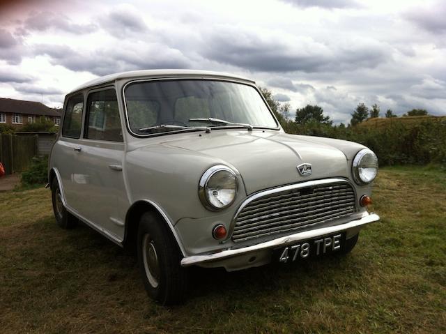 1961 Austin Mini Seven Saloon, Chassis no. AA2S778868 Engine no. 8AMU66867