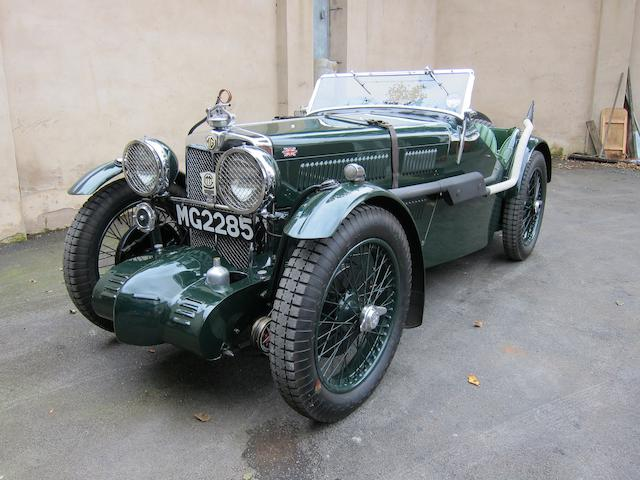 1933 MG J2 (J4 Replica) 885cc