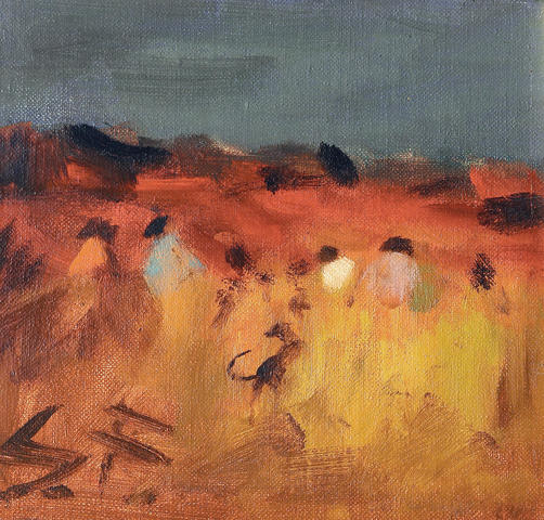 Sam Fullbrook (1922-2004) Wheat Fields, Pilbara