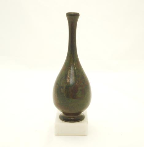A small bronze bottle vase 18th/19th century