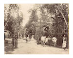 KASHMIR and CEYLON An album comprising approximately 50 images, [c.1885]