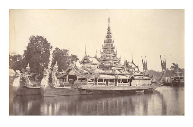 BURMA and INDIA An album of 60 images by Samuel Bourne, [c.1889]