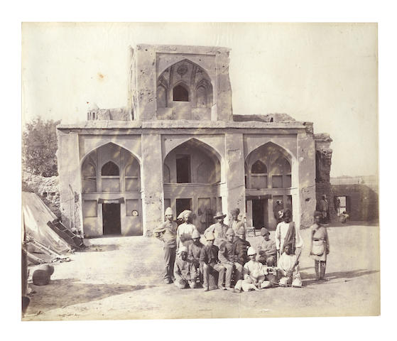 AFGHANISTAN and NORTH WEST PROVINCE Album of 41 views, [c.1880]