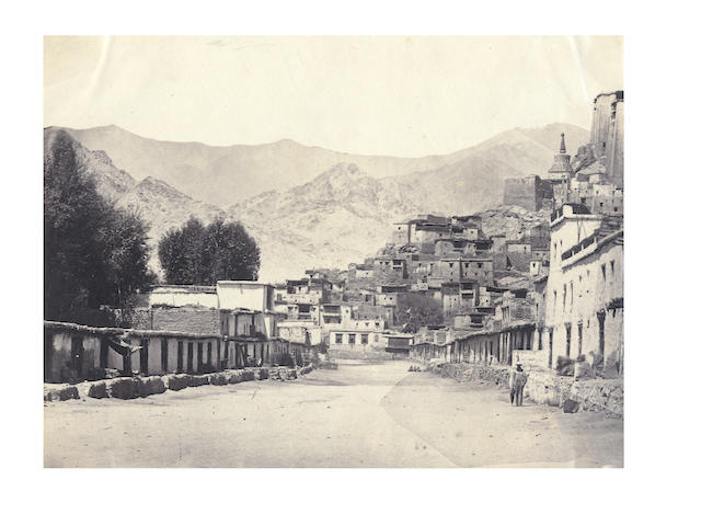 LADAKH, KASHMIR, and SIMLA Album of 24 views, 1870s