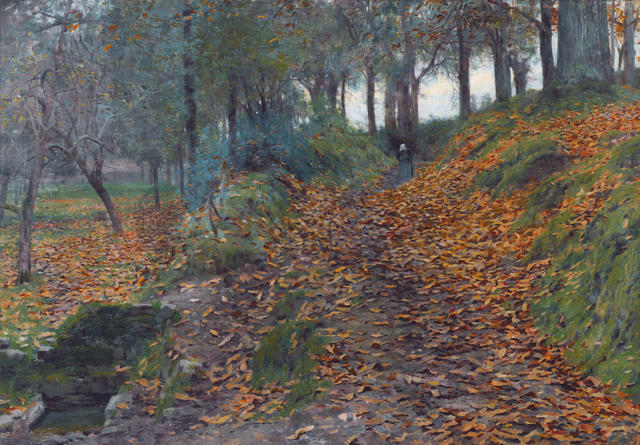 Emanuel Phillips Fox (1865-1915) Autumn 1889