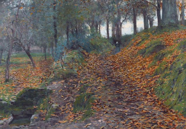 Emanuel Phillips Fox (1865-1915) Autumn 1889