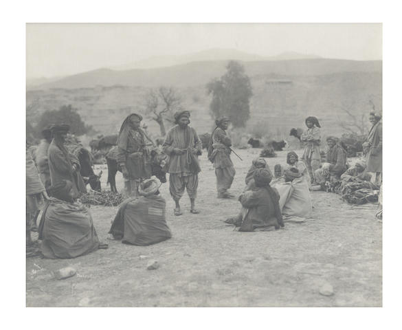 HOLMES (RANDOLPH BEZZANT)  A group of 10 North West Frontier views and portraits, [early twentieth-century] (10)
