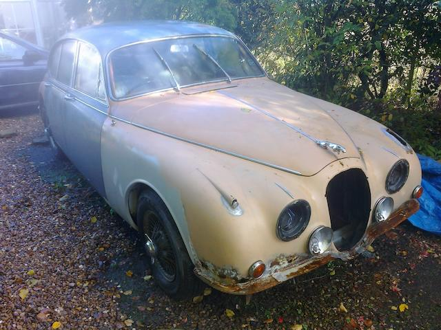 1965 Jaguar Mk2 2.4-Litre Saloon  Chassis no. 118514DN Engine no. BJ4325-8