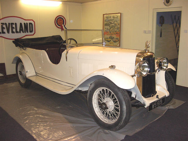 1934 Alvis 16.95hp Silver Eagle Tourer  Chassis no. 11717 Engine no. 12166