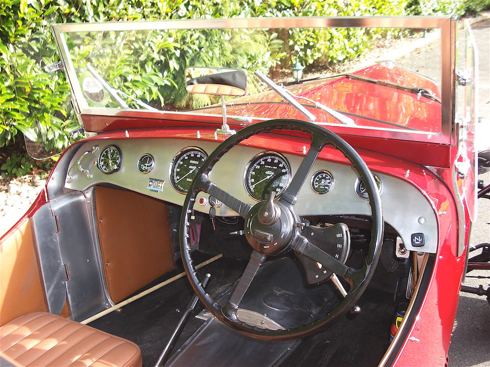1937 Riley 12/4 1½-Litre Sports Two-seater  Chassis no. 28A 7362 Engine no. A7362