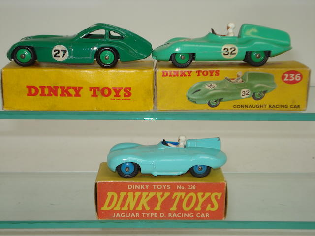 Dinky Racing cars 3