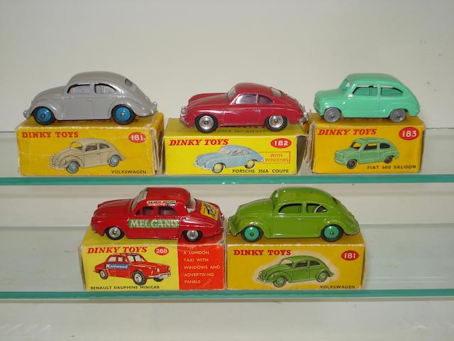 Dinky European cars 5