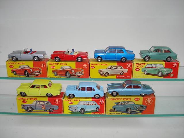 Dinky cars 7