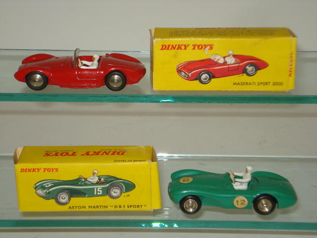 French Dinky sports cars 2