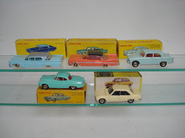 French Dinky cars 5