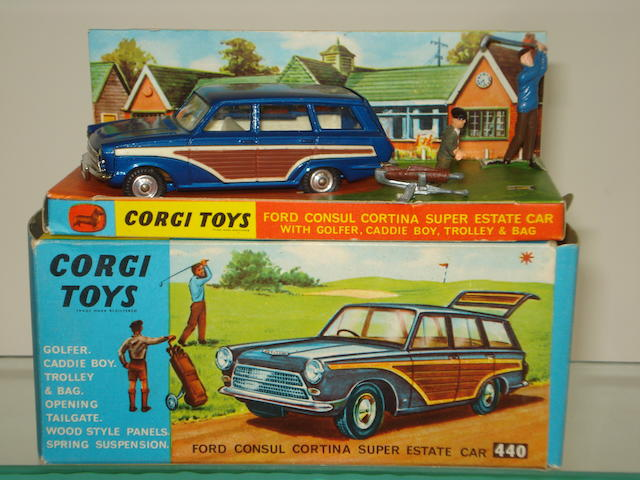 Corgi 440 Ford Consul Cortina Super Estate