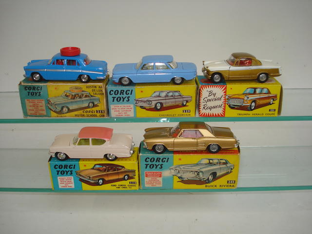 Corgi US issue 255 Motor School car and others cars 5