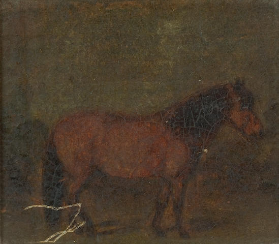 Major Thomas Robert Swinburne (British, 19th century) Pack Pony 'Jean' at Waterloo