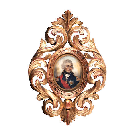After Lemuel Francis Abbott in an ornate carved frame