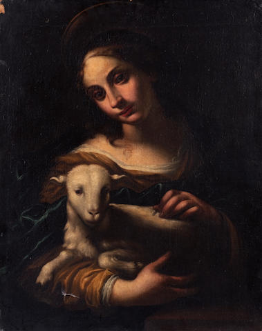Italian School, 18th century, (19th century copy) St Anne