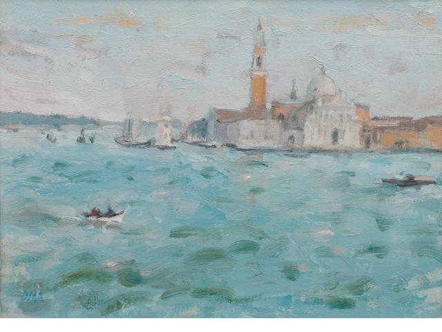 Diana Maxwell Armfield RA (British, born 1920) San Giorgio Maggiore, evening light