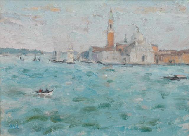 Diana Maxwell Armfield RA (British, born 1920) San Giorgio Maggiore, evening light