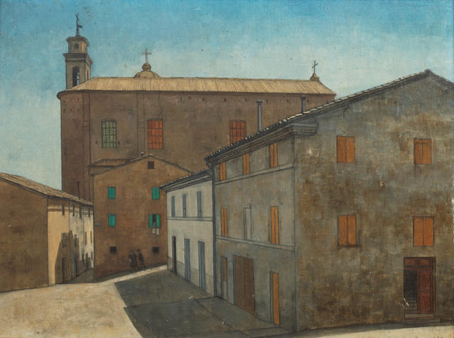 Christopher Hall (British) San Francesco, Castelfidardo