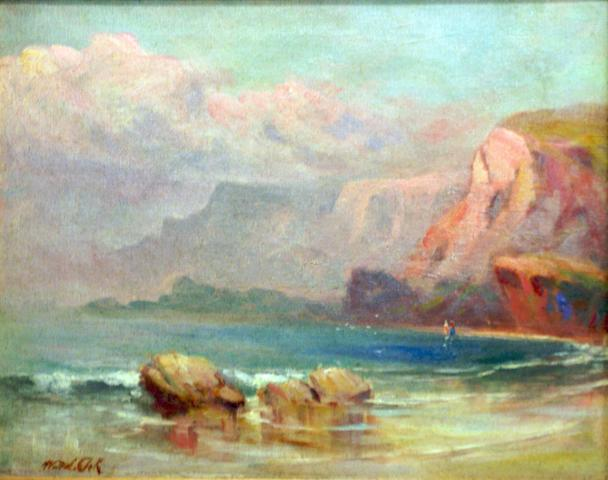 Rocky Beach (20th century) indistinctly signed lower left