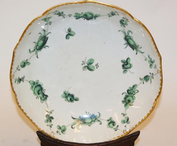 A Bristol porcelain bowl, circa 1775