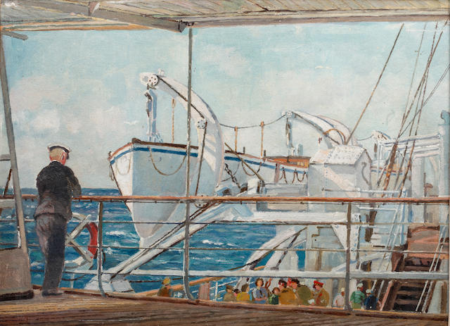 Rowland Fisher (British, 1885-1969) Portsmouth Ferry