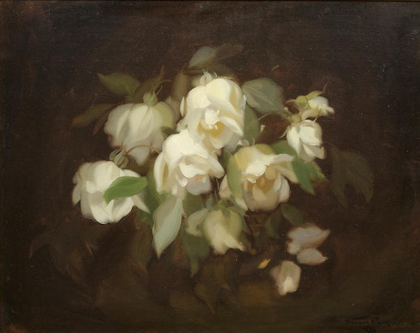 James Stuart Park (British, 1862-1933) Lemon Roses