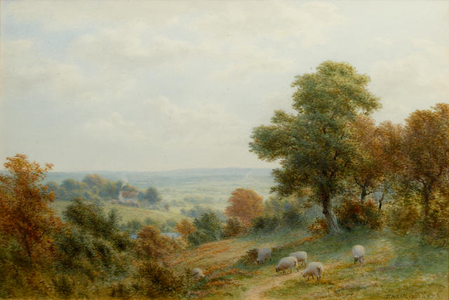 Robert Angelo Kittermaster Marshall (British, 1849-1926) Near Abergaveny