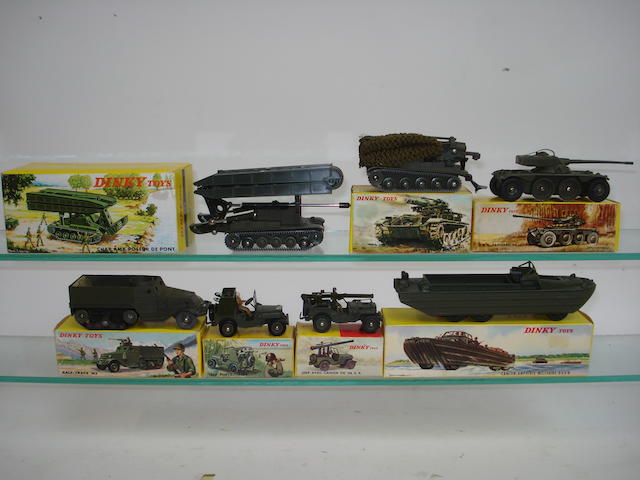 French Dinky Military vehicles 7