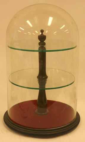 A Glass dome display case
