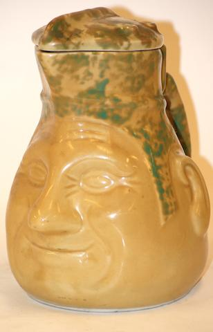 Sunshine Electrix Face Jug, circa 1935