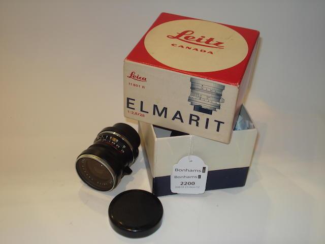 Leitz 28mm f2.8 Elmarit,