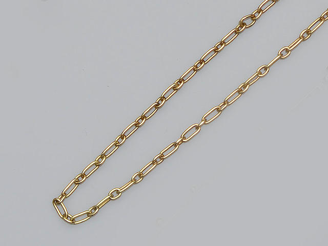 Cartier: An 18ct gold chain