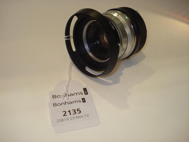 Leica 35mm f2 Summicron lens,