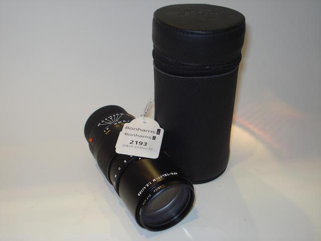 Leica 135mm f3.4 Apo-Telyt-M lens,