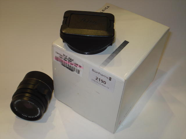 Leica 28mm f2 Asph lens,