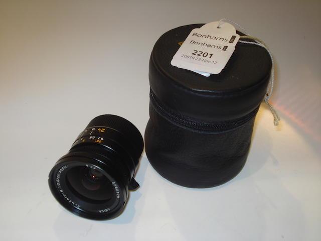 Leica 24mm f2.8 Elmarit M lens,