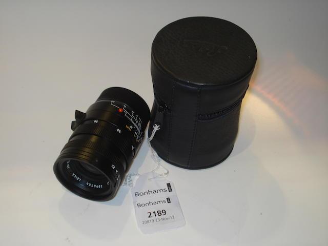 Leica 28-50 Asph Tri-Elmar-M lens,