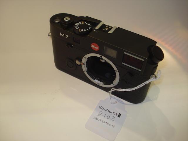 Leica M7 0.58 model,