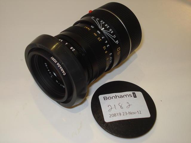Leica 90mm Tele-Elmarit-M lens,