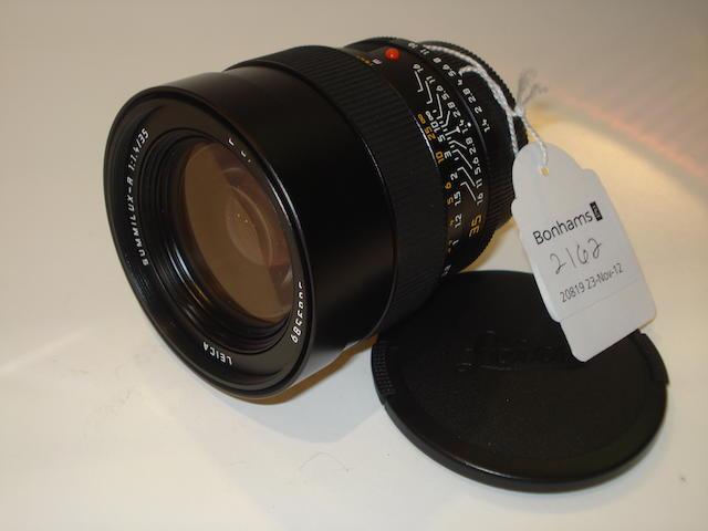 Leica Summilux R 35mm f1.4 lens,