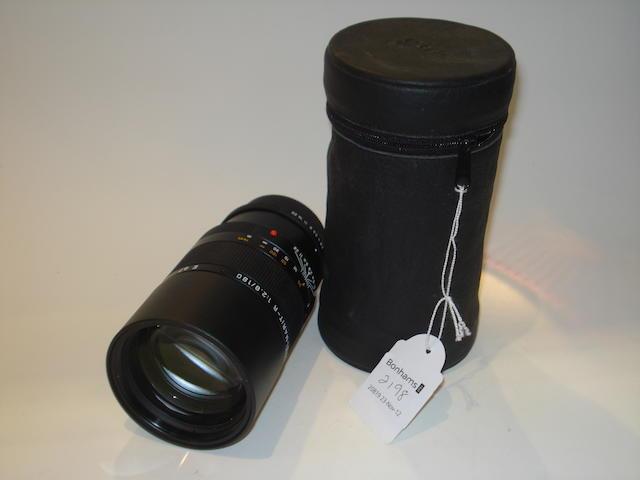 Leica Apo-Elmarit R 100mm f2.8 lens,